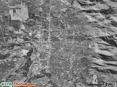 Ogden satellite photo by USGS