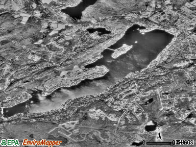 Lake Mohawk satellite photo by USGS