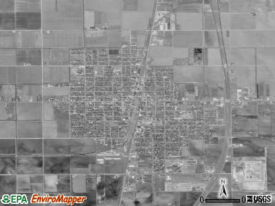 Raymondville satellite photo by USGS
