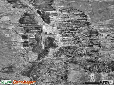 Espanola satellite photo by USGS