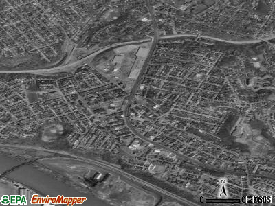 Swissvale satellite photo by USGS