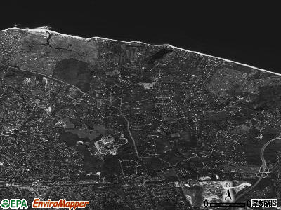 Fort Salonga satellite photo by USGS