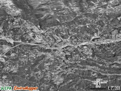 Placerville satellite photo by USGS