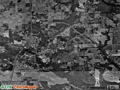 Pell City satellite photo by USGS