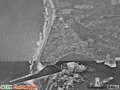 Newport satellite photo by USGS