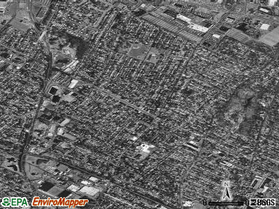 Maywood satellite photo by USGS