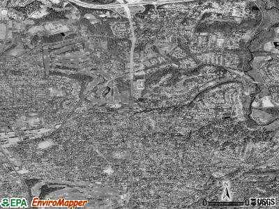 Chevy Chase satellite photo by USGS