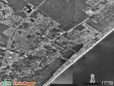 Garden City satellite photo by USGS