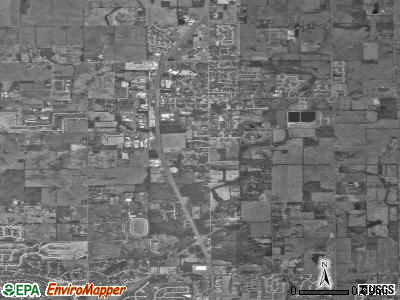 Westfield satellite photo by USGS