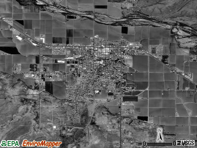 Safford satellite photo by USGS