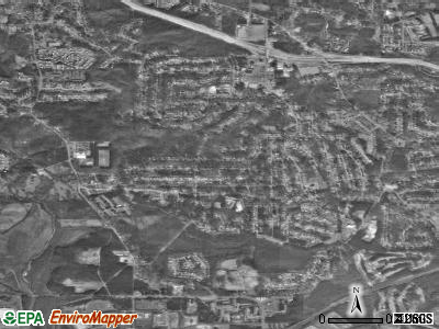 Gresham Park satellite photo by USGS