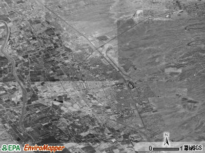 Las Cruces satellite photo by USGS
