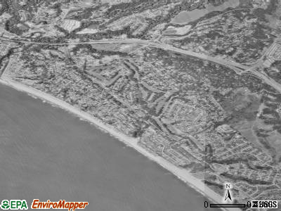Rio del Mar satellite photo by USGS
