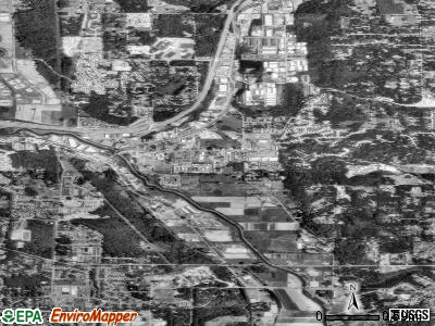 Woodinville satellite photo by USGS