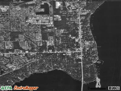 Orange Park satellite photo by USGS