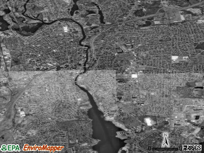 Pawtucket satellite photo by USGS