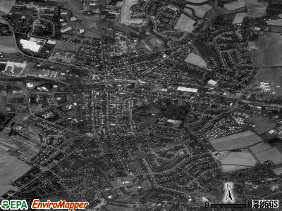 Lititz satellite photo by USGS