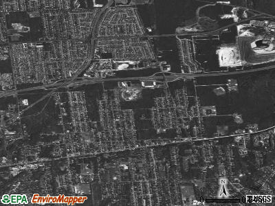 North Bellport satellite photo by USGS