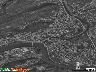 Lewistown satellite photo by USGS