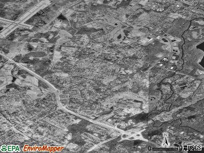 Florham Park satellite photo by USGS