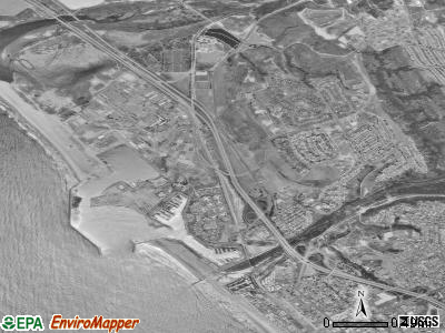 Camp Pendleton South satellite photo by USGS