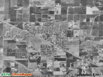 Winton satellite photo by USGS