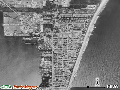 Cape Canaveral satellite photo by USGS