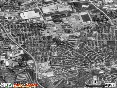 East York satellite photo by USGS