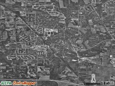 Zionsville satellite photo by USGS