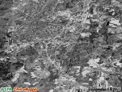 Roxboro satellite photo by USGS