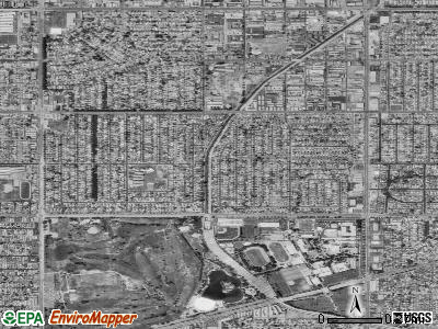 Alondra Park satellite photo by USGS