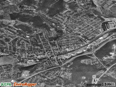 Canonsburg satellite photo by USGS