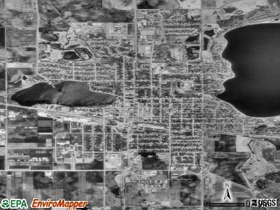 Waseca satellite photo by USGS