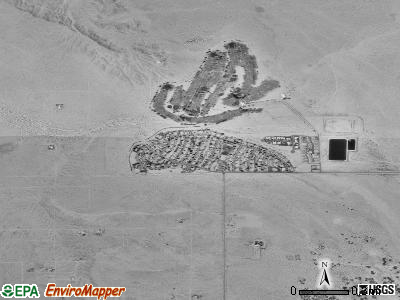 Twentynine Palms Base satellite photo by USGS