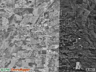 Jacksonville satellite photo by USGS