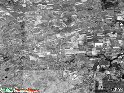 Stuarts Draft satellite photo by USGS