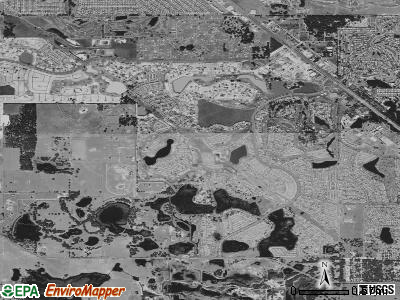 The Villages satellite photo by USGS
