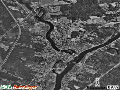 Orono satellite photo by USGS