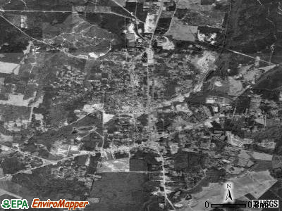 Jasper satellite photo by USGS
