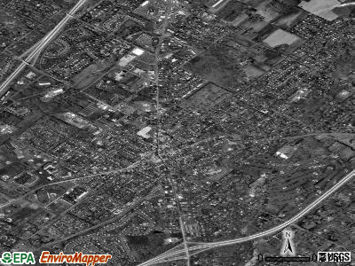 Doylestown satellite photo by USGS