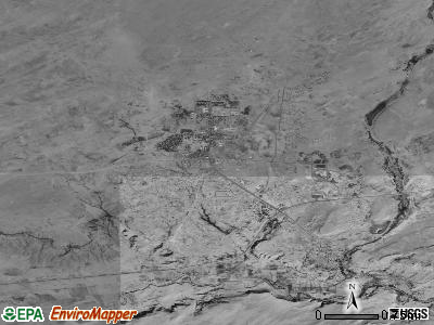 Tuba City satellite photo by USGS