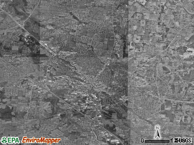 Murfreesboro satellite photo by USGS