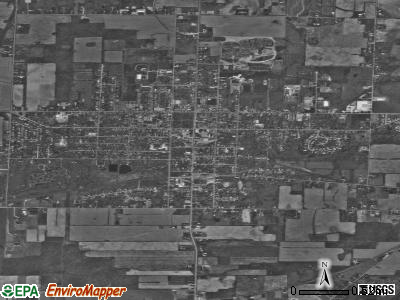 Oberlin satellite photo by USGS