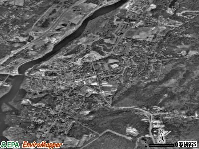 Hanover satellite photo by USGS