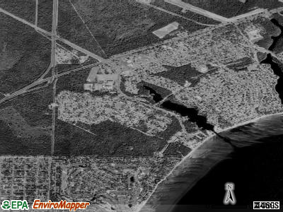 Eglin AFB satellite photo by USGS