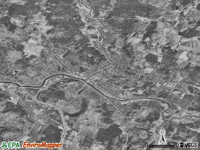 Montpelier satellite photo by USGS