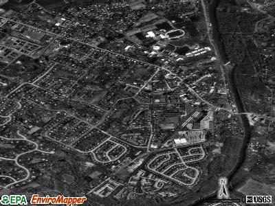 Collegeville satellite photo by USGS