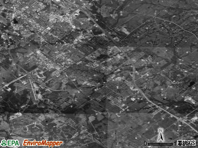 College Station satellite photo by USGS