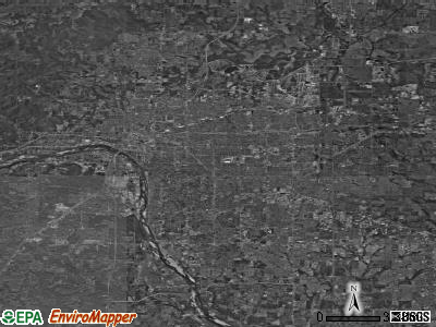 Tulsa satellite photo by USGS
