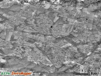 Cloverly satellite photo by USGS